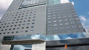 办公楼。Timelapse 股票视频