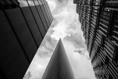 办公楼和塔,伦敦- 1 图库摄影