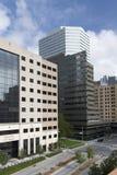 办公楼在城市俄克拉何马 图库摄影
