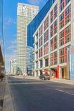 办公楼在街市多伦多,加拿大 免版税图库摄影