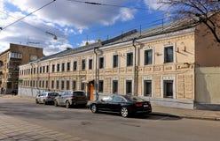 办公楼复杂设计Transinzhstroy 库存图片