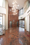 办公楼大厅 免版税库存照片