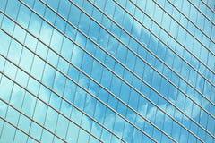 办公楼玻璃墙 库存图片