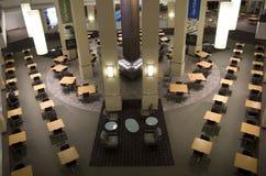 办公楼自助食堂 库存图片