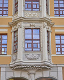 办公楼门面,莱比锡德国 免版税库存照片