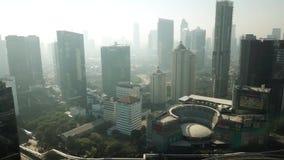 办公楼风景在Semanggi高速公路附近的 影视素材