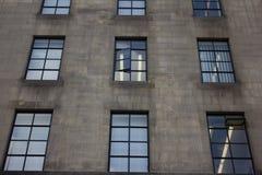 办公楼,曼彻斯特英国 库存照片