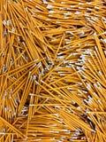 办公用品,铅笔,办公用品 免版税库存照片