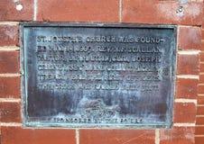 89 `主办的老情报板材在圣约瑟夫` s老大教堂的ERS 免版税库存图片