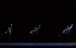 功夫网上古典芭蕾` Austen汇集` 库存图片