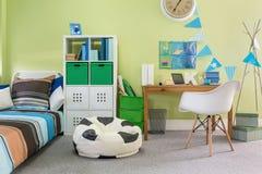 功能时髦的家具 免版税库存图片