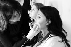 加上大小时尚周末时装表演2014年2月伦敦 图库摄影