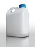 加仑塑料白色 库存图片