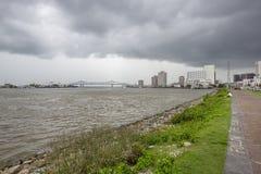 更加伟大的新奥尔良桥梁&新奥尔良 图库摄影