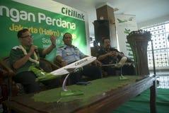 加倍在燃料获取的运输预算的印度尼西亚 库存图片