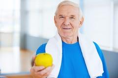 加入健康生活方式! 库存照片