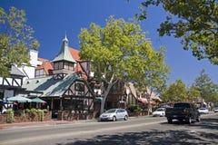 加利福尼亚丹麦solvang城镇 免版税图库摄影