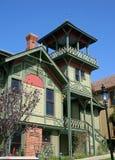 加利福尼亚五颜六色的地亚哥房子圣&# 免版税库存图片