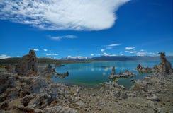 2008年加利福尼亚例外湖单音一个安置西部 库存图片