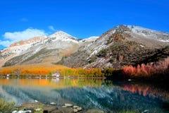 加利福尼亚内华达山山 库存图片