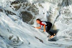 加利福尼亚冲浪者 图库摄影