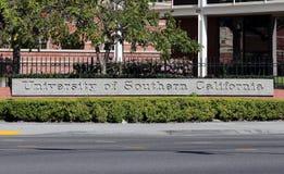 加利福尼亚南部的大学 库存照片