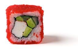 加利福尼亚卷用蟹肉 免版税库存图片