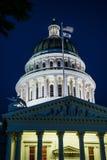加利福尼亚国会大厦状态 图库摄影