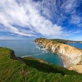 加利福尼亚国家点雷耶斯海滨 库存图片