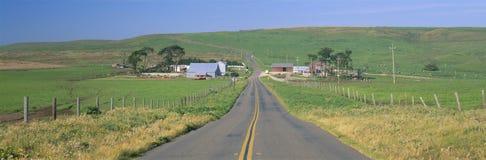 加利福尼亚国家点雷耶斯海滨 库存照片