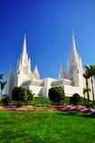 加利福尼亚地亚哥圣寺庙 免版税库存图片