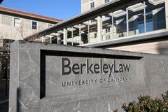 加利福尼亚大学伯克利分校法学院 免版税库存照片