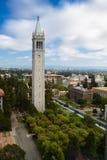 加利福尼亚大学伯克利分校钟楼广场 库存照片
