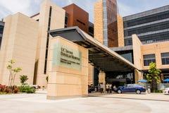 加利福尼亚大学欧文分校道格拉斯医院 库存图片
