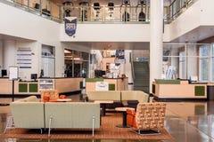 加利福尼亚大学戴维斯分校活动和娱乐中心(弧) 免版税库存照片