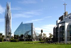 加利福尼亚大教堂水晶 免版税图库摄影