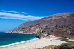 加利福尼亚太平洋海岸 免版税图库摄影