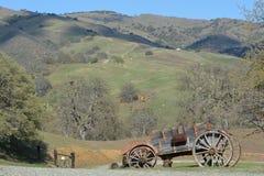加利福尼亚山边 库存照片