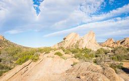 加利福尼亚岩层 免版税图库摄影
