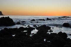 加利福尼亚峭壁 图库摄影