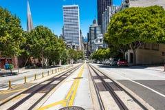 加利福尼亚弗朗西斯科・圣街道 免版税库存图片