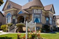 加利福尼亚房子盐沼steinbeck 免版税库存照片