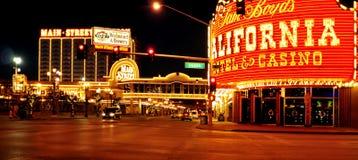 加利福尼亚旅馆和娱乐场在拉斯维加斯,美国 库存图片