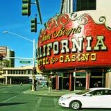 加利福尼亚旅馆和娱乐场在拉斯维加斯 免版税库存图片