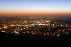 加利福尼亚晚上 免版税库存照片