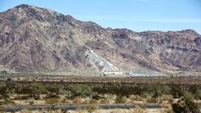 加利福尼亚沙漠抽的厂 库存图片