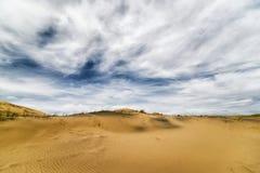 加利福尼亚沙漠莫哈韦沙漠 图库摄影
