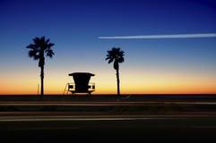 加利福尼亚沿海横向 免版税库存图片