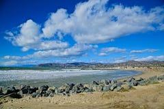 加利福尼亚海岸线维特纳 库存照片