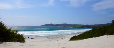 加利福尼亚海岸线 免版税库存照片